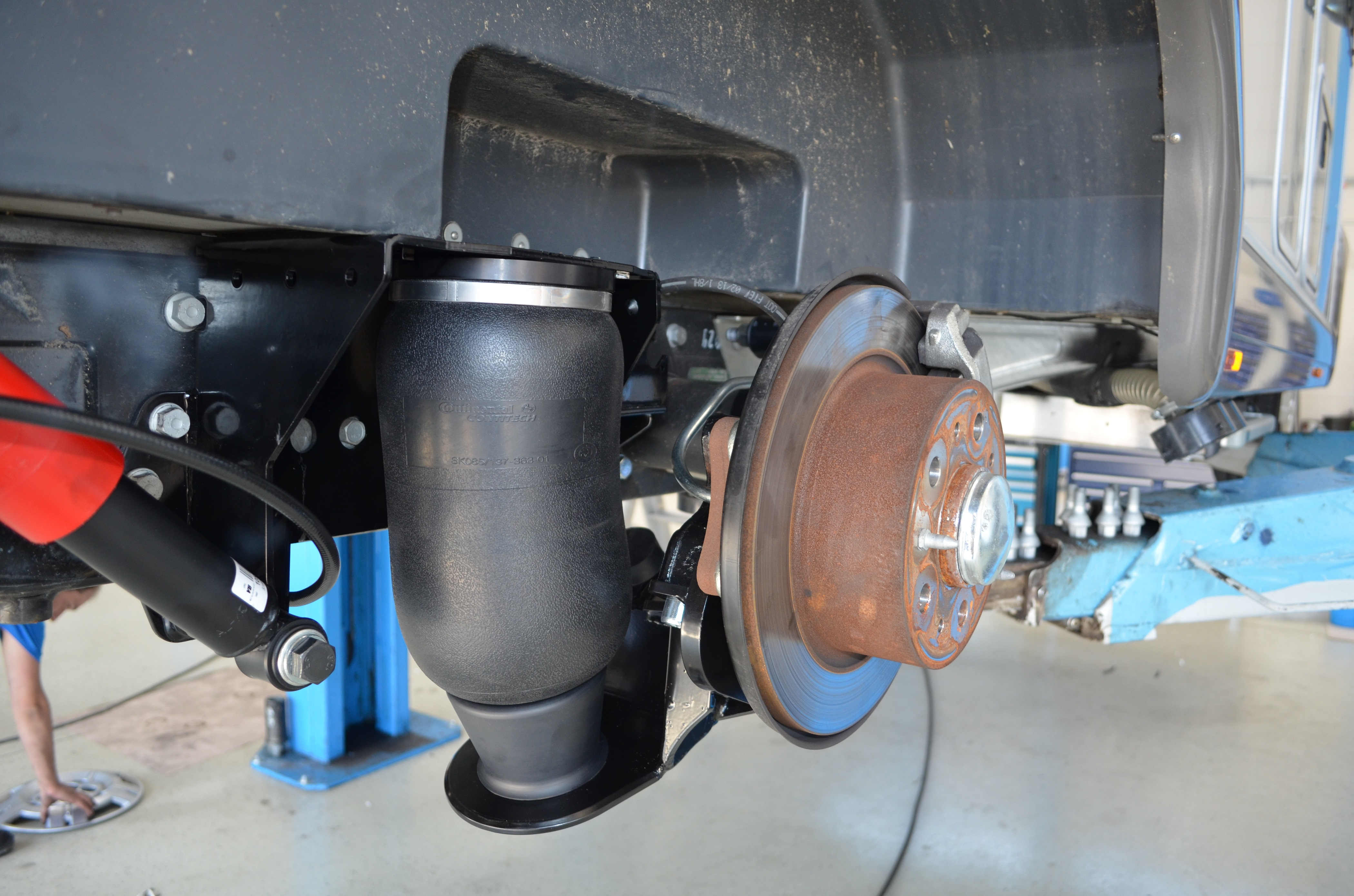 Carsten Stäbler GmbH - 2C-Voll-Luftfeder (Hinterachse) AL-KO